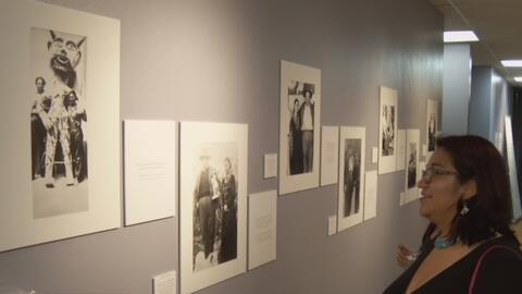 """""""Frida y Diego, una sonrisa a mitad del camino"""" se exhibe en el Consulad..."""
