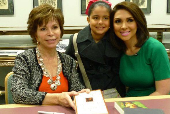 Isabel Allende en Chicago
