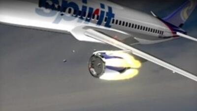 Pasajeros de Spirit Airlines se llevaron un gran susto