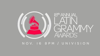 Los premios Latin Grammy serán el próximo 16 de noviembre a las ocho de...