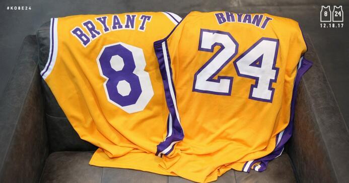 Se retiraran no sólo uno sino los dos números que usó Kobe en su carrera...