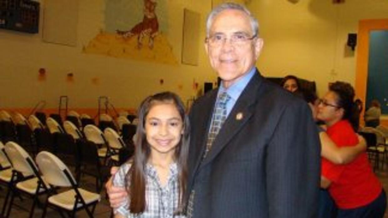 Rubén Hinojosa, el representante demócrata por el Distrito 15 de Texas.