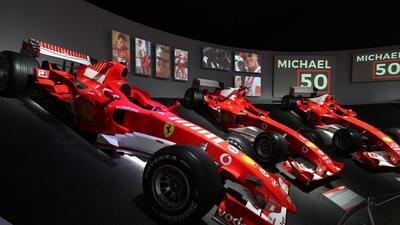 Esta es la exposición sobre Michael Schumacher que sus fans no querrán perderse