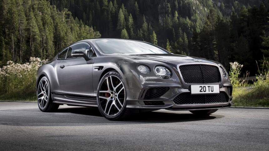 Bentley Continental GT Supersports 2017