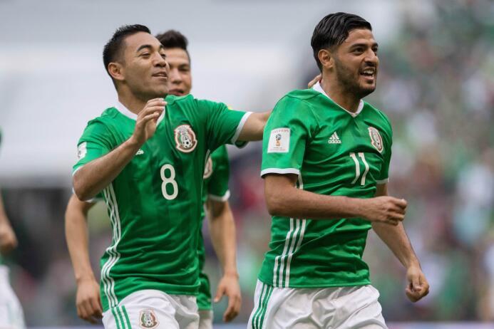 Carlos Vela marcó el gol de México.