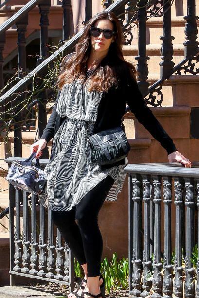 La que apenas hizo maletas y cargó hasta con el perico fue Liv Tyler.