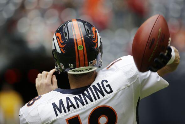 Peyton Manning cumple 39 años este 24 de marzo, y aquí te presentamos al...