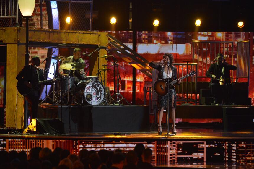Debutaron en el escenario: Matisse y Raquel Sofía