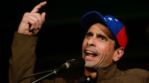 Henrique Capriles denuncia intervenciones militares en la policía de Mir...