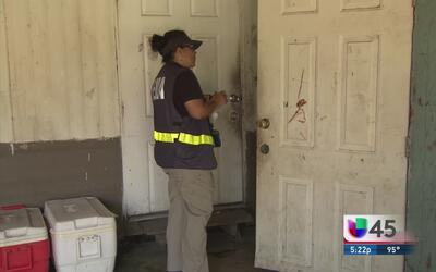 FEMA acude a Fort Bend para asistir a residentes afectados