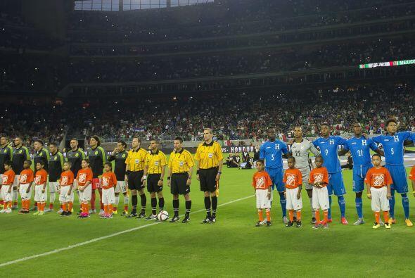 El Tri y Honduras se enfrentaron en un duelo de preparación rumbo a la C...