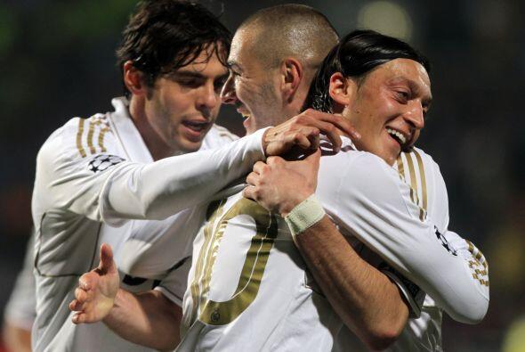 El doblete, en la ida, del francés Karim Benzema y el tanto del b...