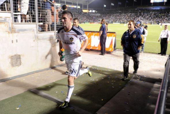Y Keane llegó con mucha energía a la MLS. Hizo un gol y no paró de corre...