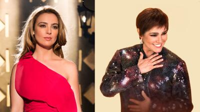 Mariana Torres y Gabriela Roel son interpretan a Lupita D'Alessio.