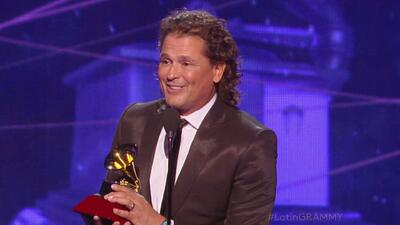 Carlos Vives dedicó su Latin GRAMMY a Obama