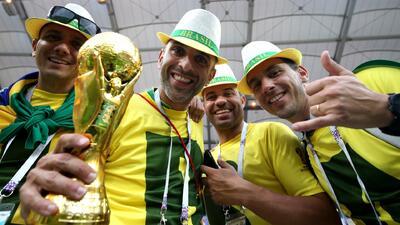 Hinchas de brasil sueñan con el renacer del 'jogo bonito' ante Costa Rica