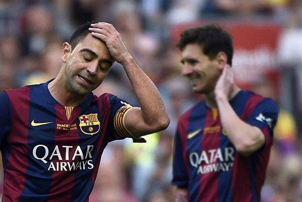 Xavi se iba a despedir del Camp Nou sin triunfo.