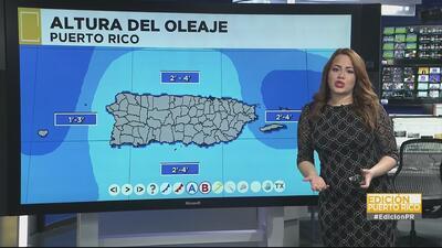 Altos niveles de humedad en Puerto Rico