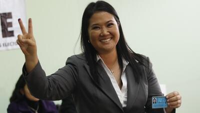 Detienen a la excandidata presidencial peruana Keiko Fujimori por presunto lavado de activos