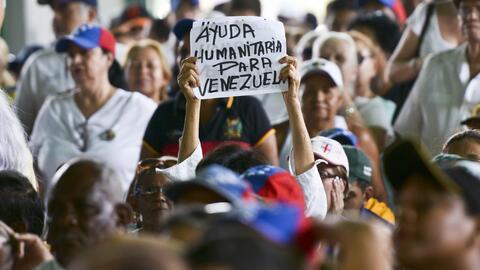 Las protestas en Venezuela se multiplicaron en los últimos a&ntil...