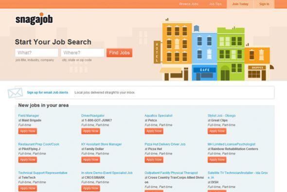 8. Snagajob  Industria: Servicios Profesionales- Personal y reclutamient...