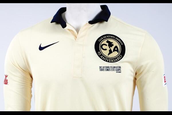 Para los 95 años de las Águilas del América, la marca que las viste real...