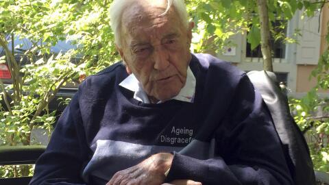 David Goodall cree que los ancianos tienen el derecho a morir dignamente...