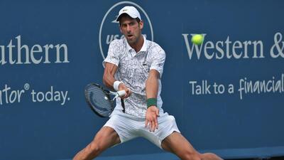 Djokovic se instala en la Final de Cincinnati a la espera de Federer