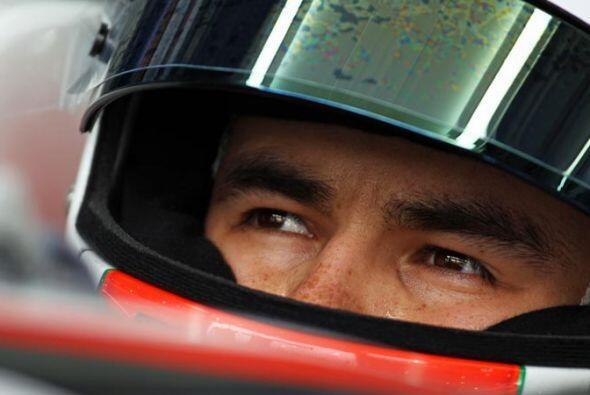 Todo listo para la salida en el Gran Premio de Malasia.