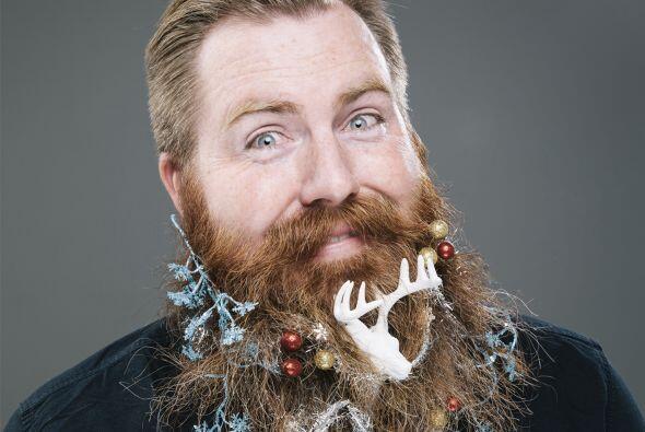 El proyecto consistió en crear  12 barbas temáticas de navidad.