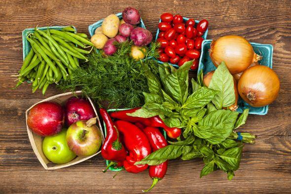 """Usa ingredientes de temporada. """"Antes era común encontrar sólo vegetales..."""