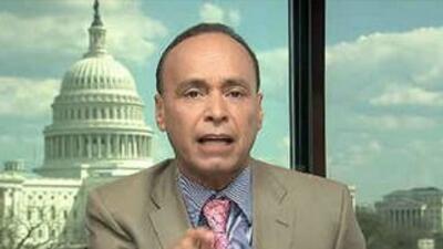 El congresista demócrata de Illinois Luis Gutiérrez en el programa Al Pu...