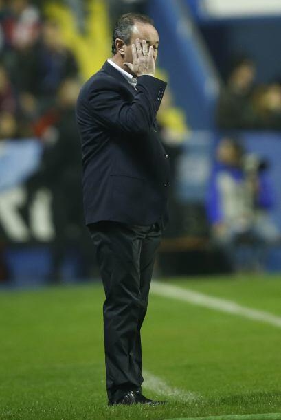 El entrenador del Levante no quería ver una goleada para sus dirigidos,...