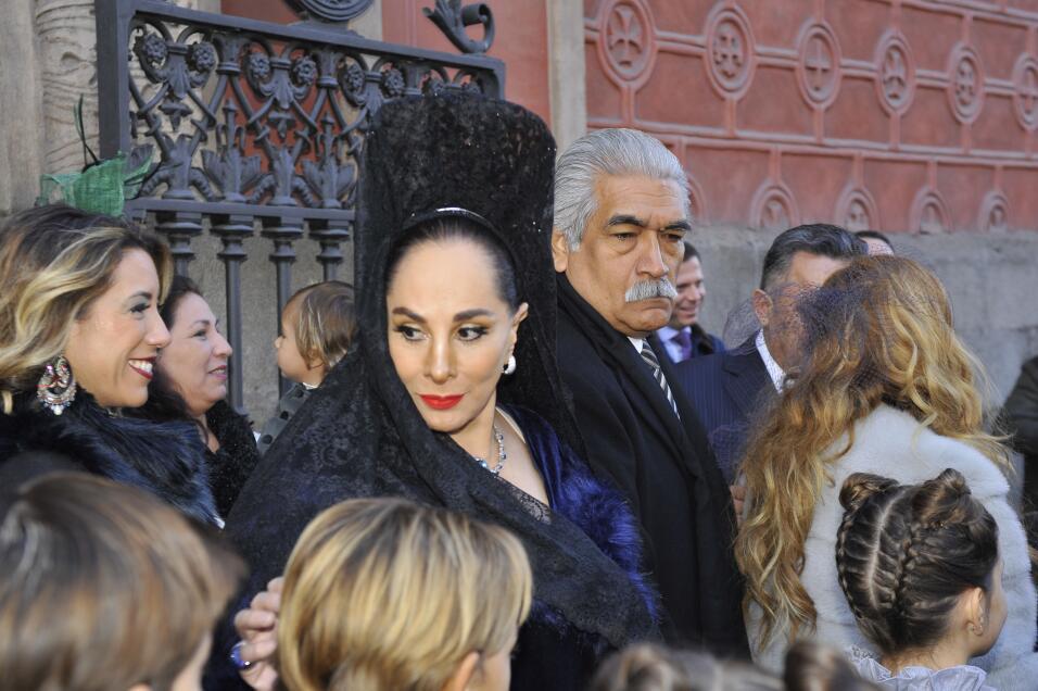 Susana Dosamantes, guapa y contenta tras el enlace matrimonial del m&aac...