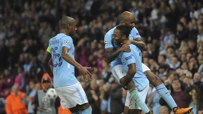 Manchester City le pega 2-0 al Shakhtar y marcha firme en el liderato del Grupo F
