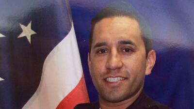 Luto por la muerte del policía Ricardo Gálvez