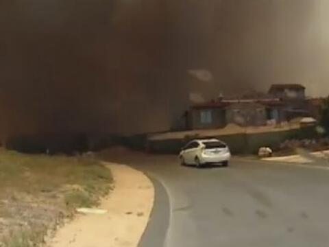 Un centro de evacuación se estableció en el Westfield Plaz...