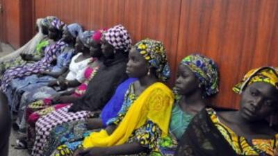 Las 63 mujeres y niñas secuestradas por extremistas islámicos en Nigeria...
