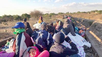 Viajando con la caravana de migrantes: las fotografías más íntimas de cómo se vivió este recorrido hacia la supervivencia