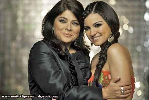 Victoria Ruffo y Osvaldo Ríos formaron otra de las parejas del Triunfo D...