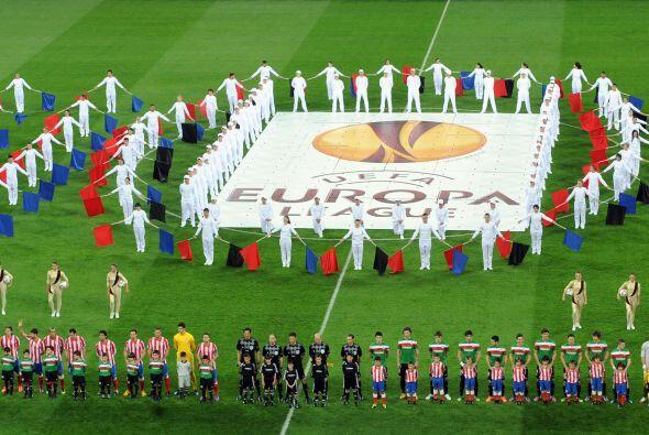 La Final de la Liga Europa se jugó en un hermoso estadio de Bucarest, Ru...