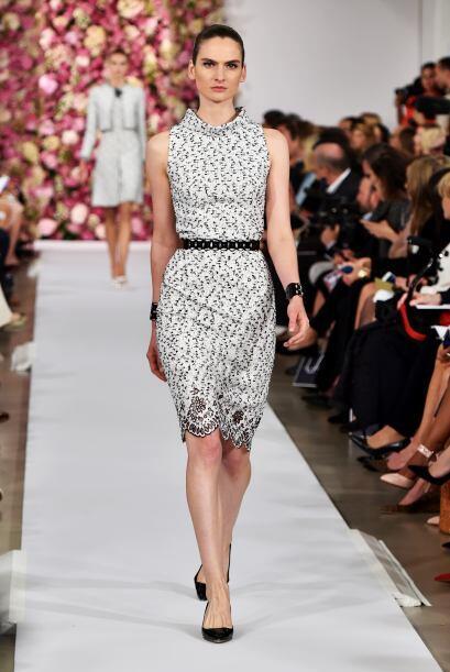 Aunque una vez más brilló la elegancia del 'black and white'.