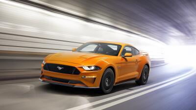 Derek  Thompson New-Ford-Mustang-V8-GT-with-Performace-Pack-in-Orange-Fu...