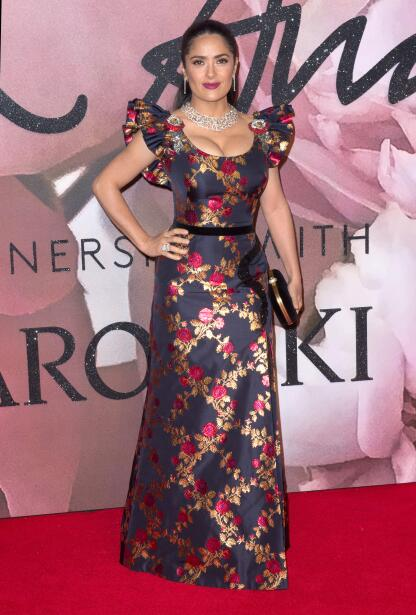 Salma en los British Fashion Awards 2016