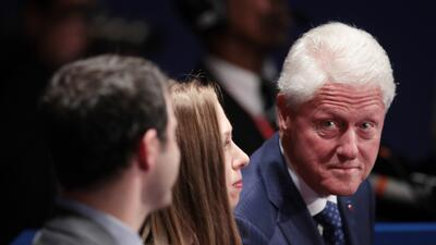 En fotos: Las caras del debate presidencial