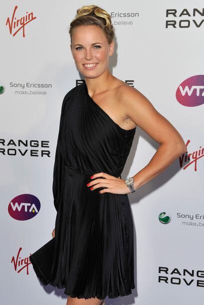 Caroline Wozniacki es la número uno del mundo; sin embargo, nunca se ha...