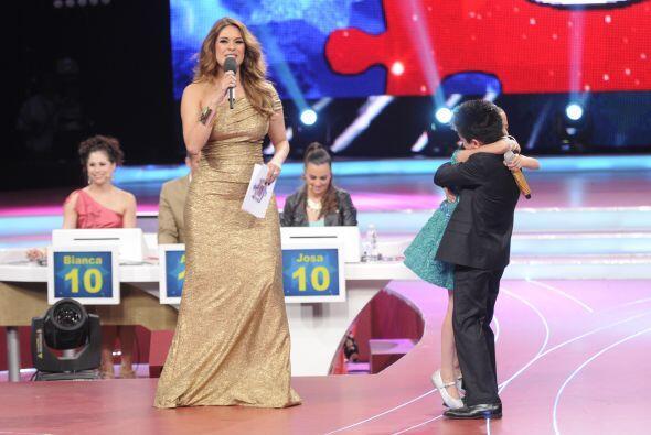 Y gracias a su gran interpretación, el dueto obtuvo una calificación per...