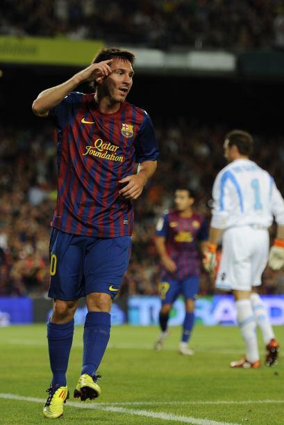 Messi no necesitó de tanto tiempo para acabar con la zaga del N&a...