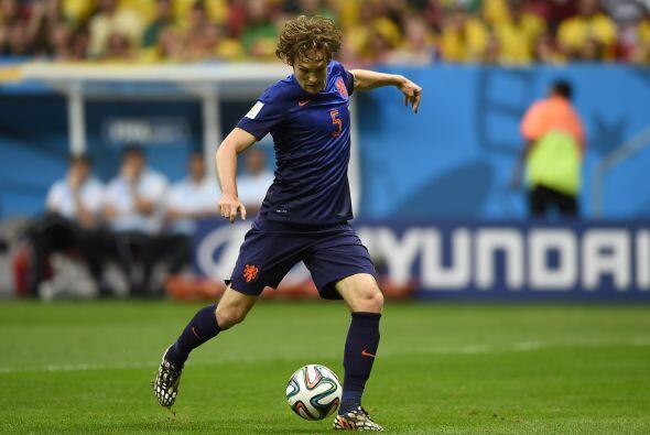 Europa aparece hasta la posición 8 con el holandés Daley Blind, el volan...