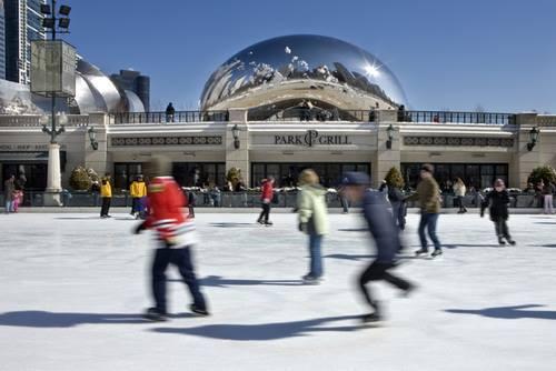 Pista de hielo Chicago